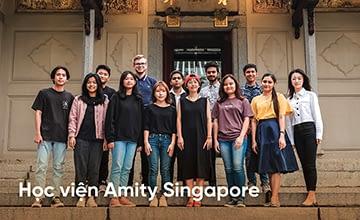 Khám phá học viện Amity Singapore